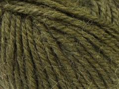 Alpaka bulky - tmavě zelená