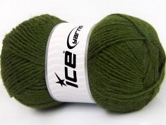 Alpaka classic - tmavě zelená