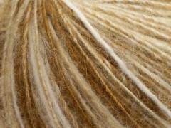 Alpaka deluxe - krémovobéžovobílákáva