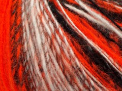 Alpaka deluxe - neonověoražovočernošedá