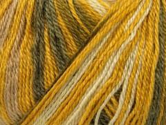 Alpaka fajn magic - olivovožlutobílokhaki