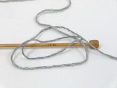 Alpaka glitz - šedostříbrná