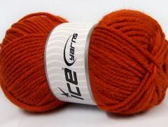 Alpaka gold - tmavě oranžová
