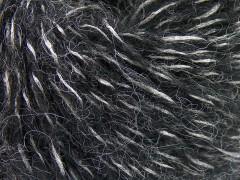 Alpaka šajn - černostříbrná
