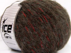 Alpaka šajn - hnědočervená