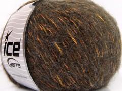 Alpaka šajn - hnědozlatoolivová