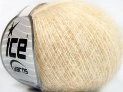 Alpaka superfajn vlna comfort - krémová melánž