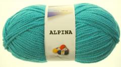 Alpina - světlý tyrkys