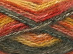 Alpine angora color - khakiměděnozelená
