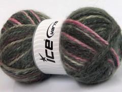 Alpine angora color - šedopurpurovorůžová