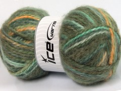 Alpine angora color - zelenozlatá