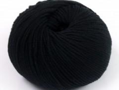 Amigurumi bavlna plus - černá
