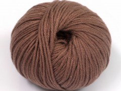 Amigurumi bavlna plus - hnědá