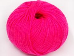Amigurumi bavlna plus - neonově růžová