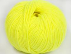 Amigurumi bavlna plus - neonově žlutá