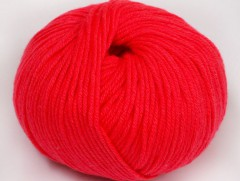 Amigurumi bavlna plus - ostrá růžová