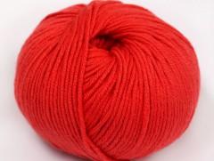 Amigurumi bavlna plus - rajčatovo červená