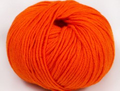 Amigurumi bavlna plus - světle oranžová 1