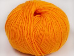 Amigurumi bavlna plus - světle oranžová