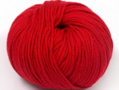 Amigurumi bavlna plus - tmavě červená