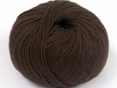 Amigurumi bavlna plus - tmavě hnědá