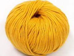Amigurumi bavlna plus - zlatá