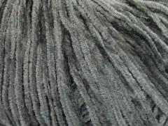 Amigurumi Chenille - tmavě šedá