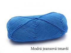 Amor - modrá jeansová tmavší 3120