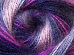 Angora Active - fialovorůžovokaštanová