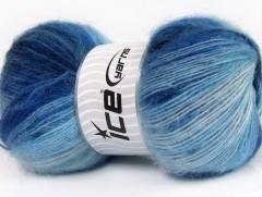 Angora Active - modré odstíny