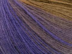 Angora design new - fialovohnědá