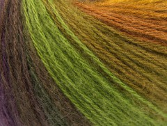 Angora design new - kaštanovomodrozelená