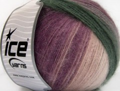Angora design new - purpurovokrémovošedá