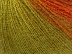 Angora design new - zelenooranžová