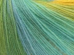 Angora design new - zelenotyrkysovožlutobílá