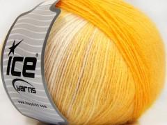 Angora design new - žlutobílé odstíny