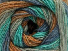 Angora print - modromátovošedá