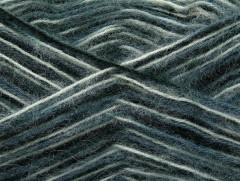 Angora supreme color - černošedobílá
