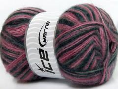 Angora supreme color - černošedorůžové odstíny