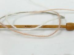 Angora supreme color - hnědokrémová