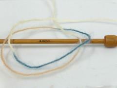 Angora supreme color - modrobéžovokrémová