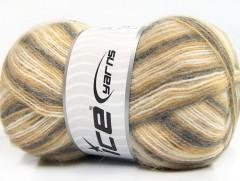 Angora supreme color - šedokrémovobéžová