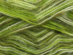 Angora supreme color - zelenobílé odstíny