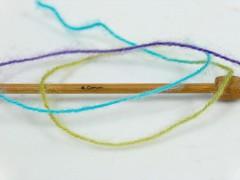 Angora supreme color - zelenopurpurovorůžovotyrkysovožlutá