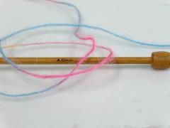 Angora supreme color - zlatomodrorůžová
