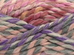 Astoria - fialovorůžovošedožlutopurpurová