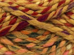 Astoria - karamelovočervenokrémová