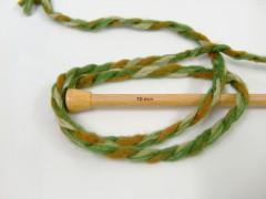 Astoria - zelenozlatooranžová