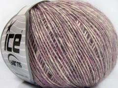 Baby alpaka merino bavlna - fialová