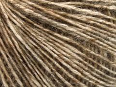 Baby alpaka merino bavlna - karamelová